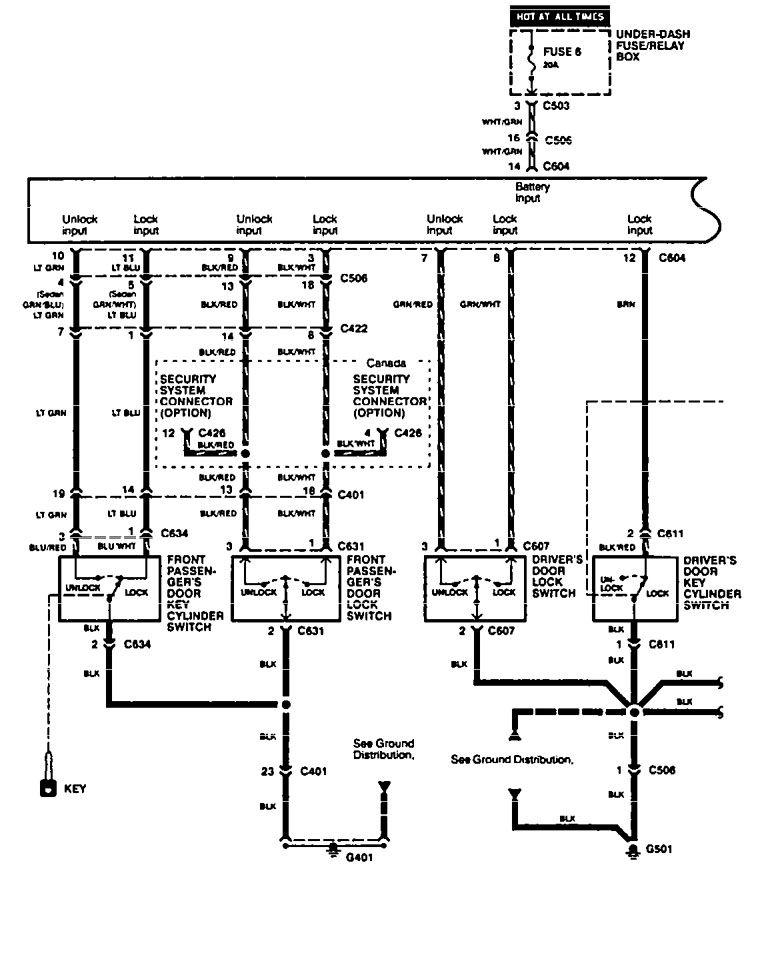 wiring diagram for 1994 acura integra