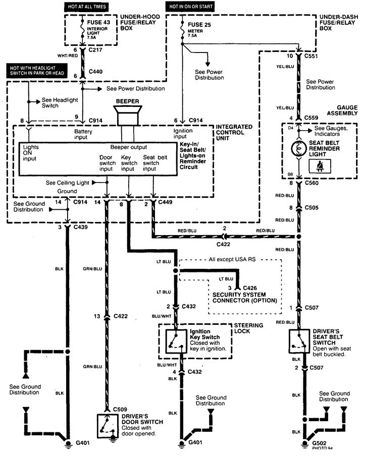2002 acura tl subwoofer wiring diagram