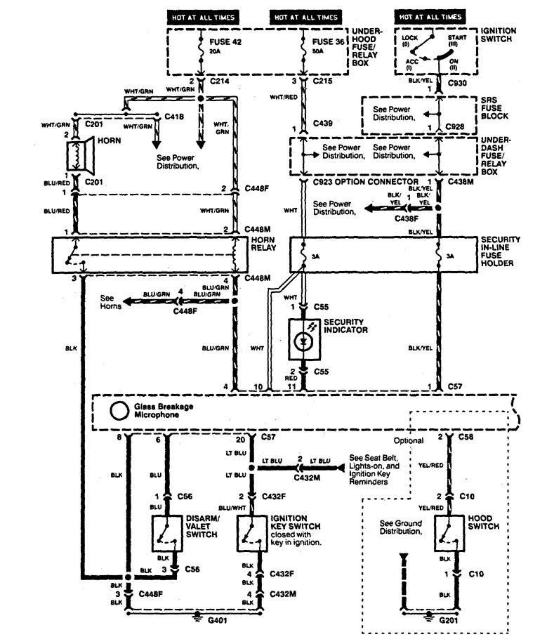 1996 acura integra alarm wiring diagram