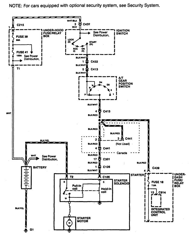 car engine diagram 1994 integra