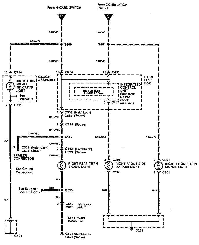 1990 acura integra wiring diagram