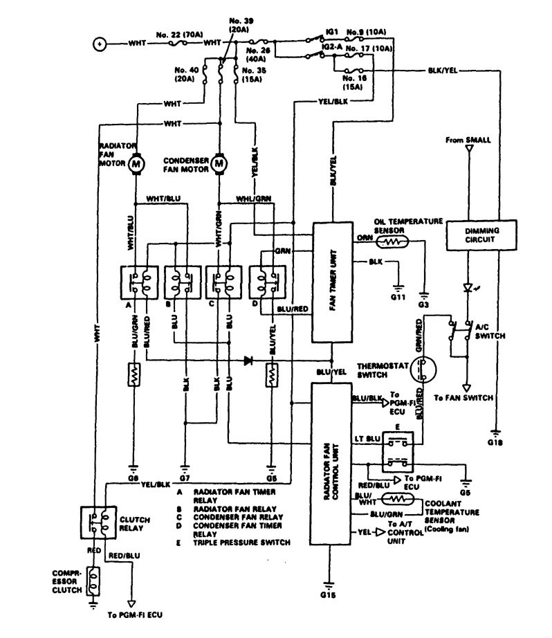 audi wiring diagram legend