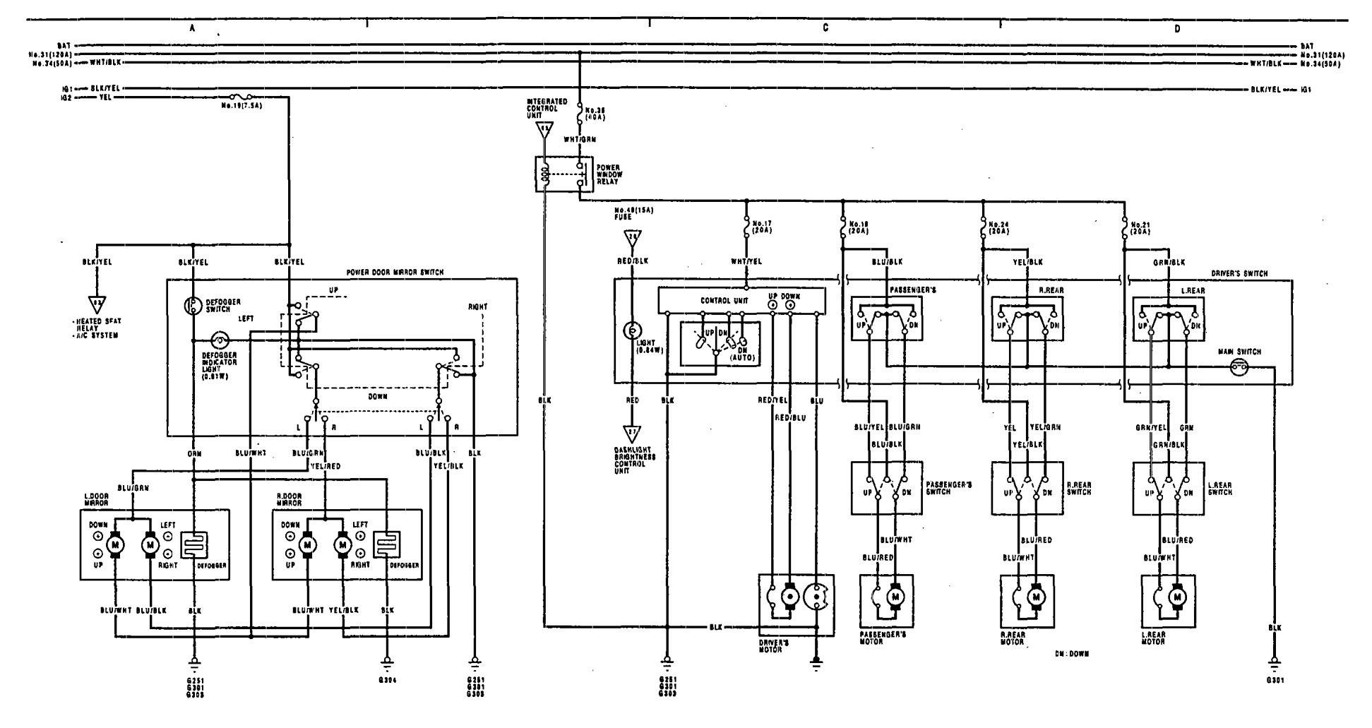 acura tl alarm wiring diagram