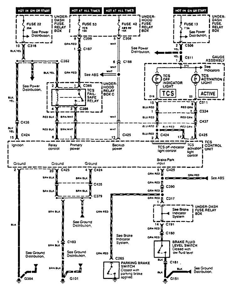 1995 honda accord abs wiring diagram