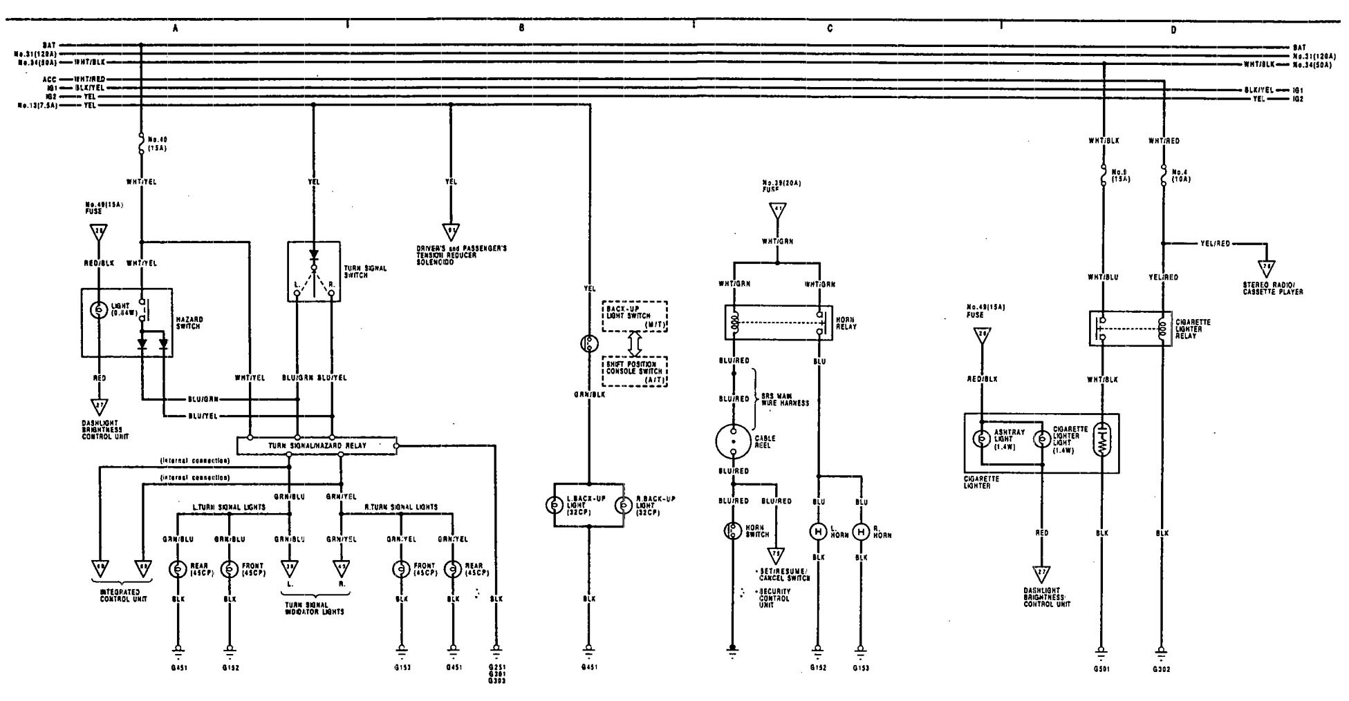 fuse box diagram 1991 gmc sierra