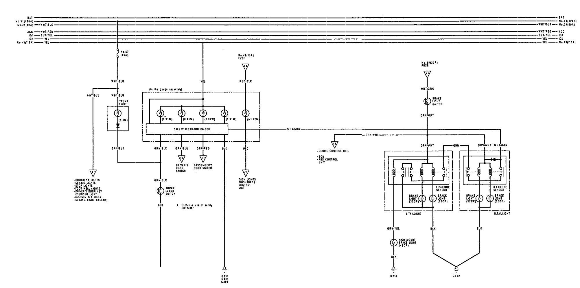 1994 acura legend wiring diagram