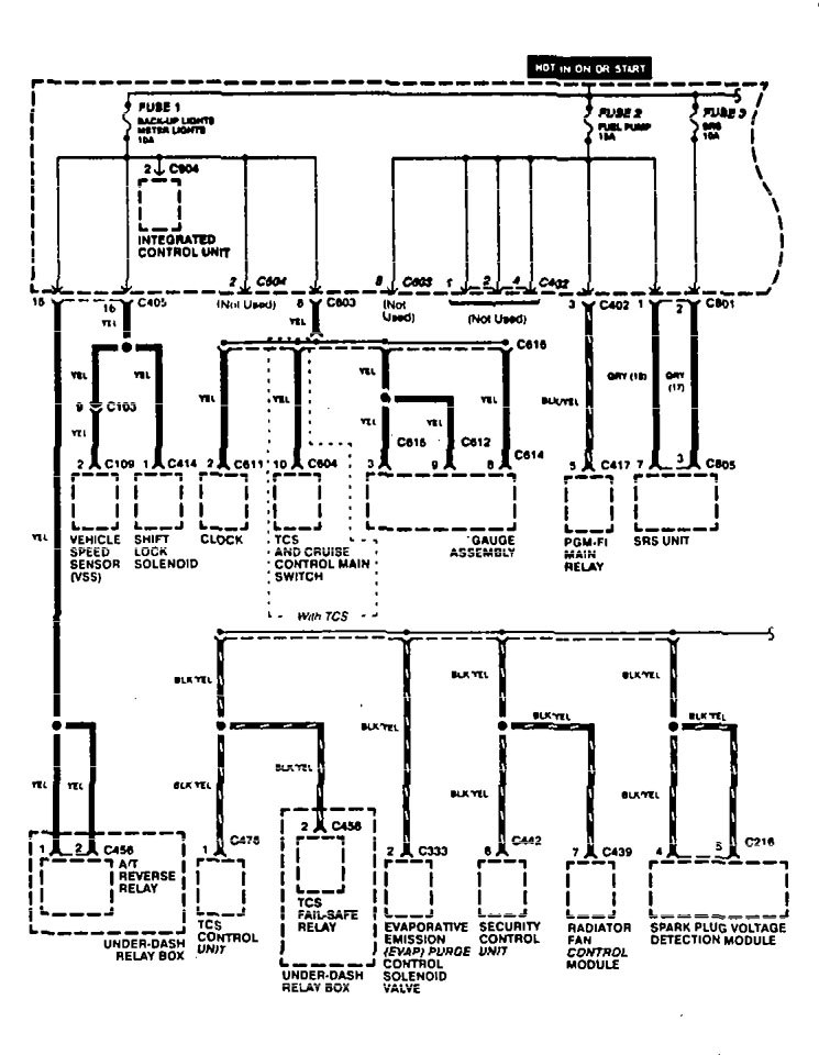 1996 Acura Tl Fuse Box Electrical Schematic Diagrams