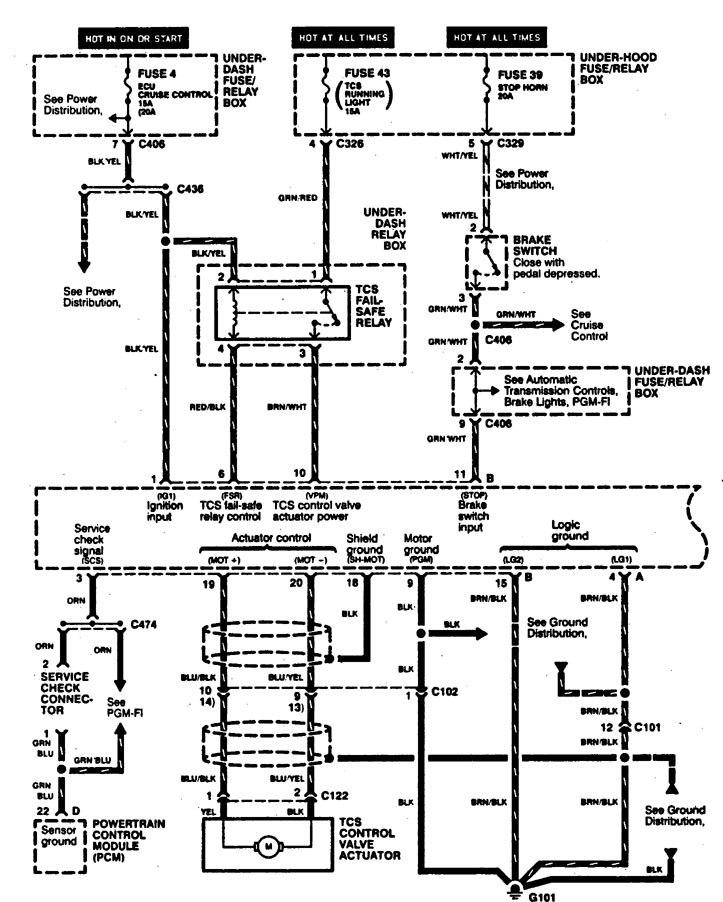 acura tl engine schematics