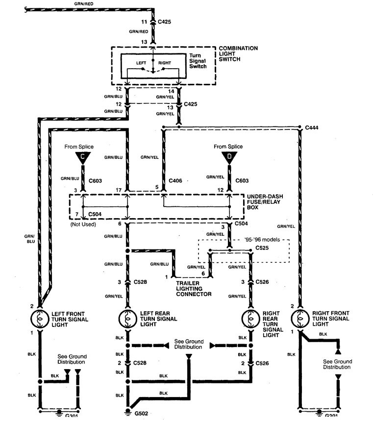 1997 acura tl fuse box diagram