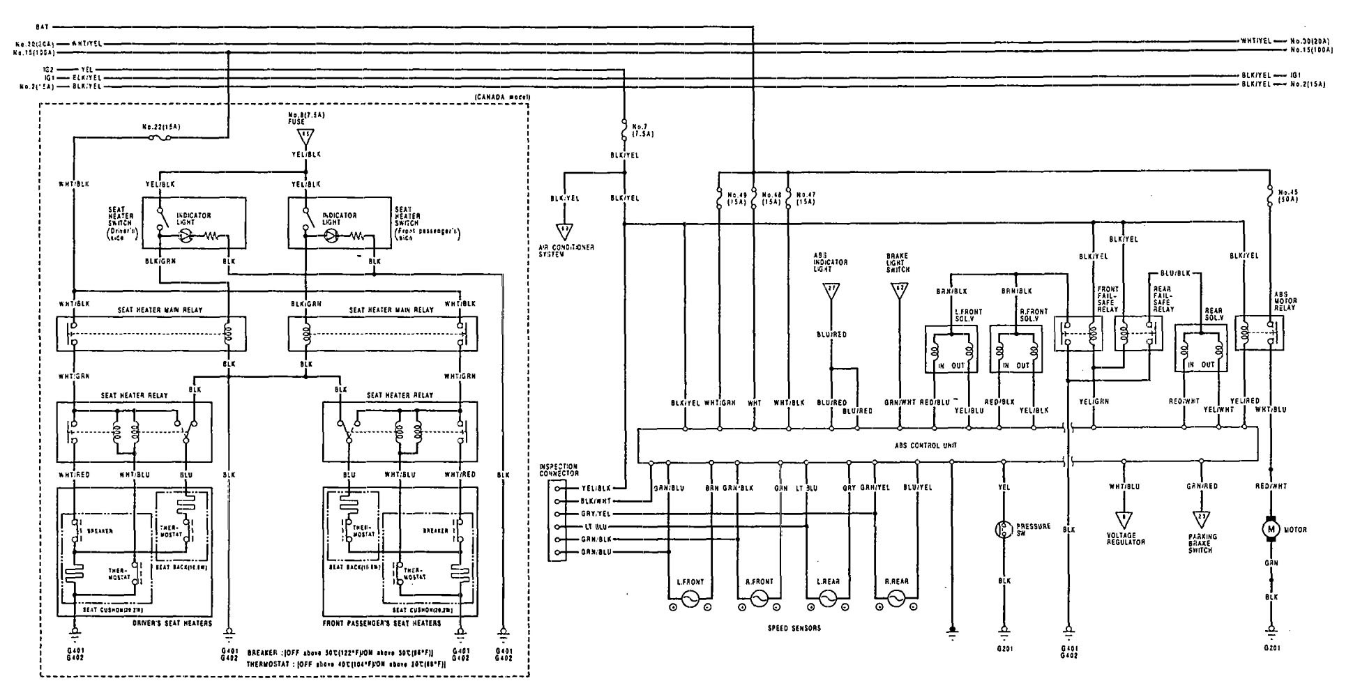 fiero fuse diagram