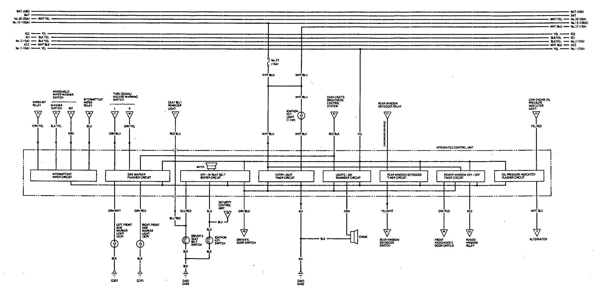 wiring diagram 2000 toyota land cruiser horn