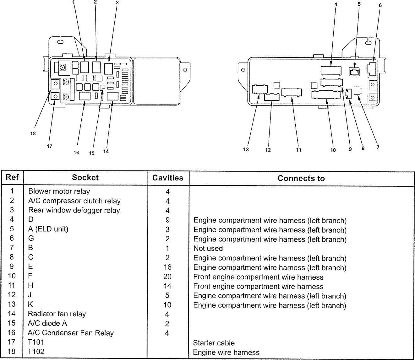 Wiring Diagram For Acura Rsx 06 Auto Electrical Blower Motor Honda Element