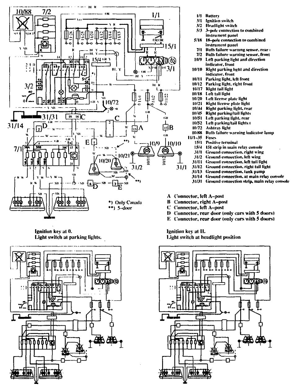 fuse box diagram 1990 volvo 760 on volvo wiring diagrams 1990 760