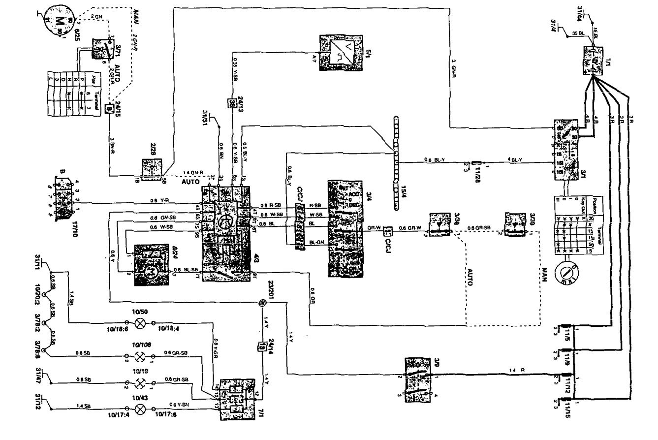 Aftermarket Radio To Factory Wiring Diagram Volvo Auto Electrical Acdelco Generator 1994 850 29 Images
