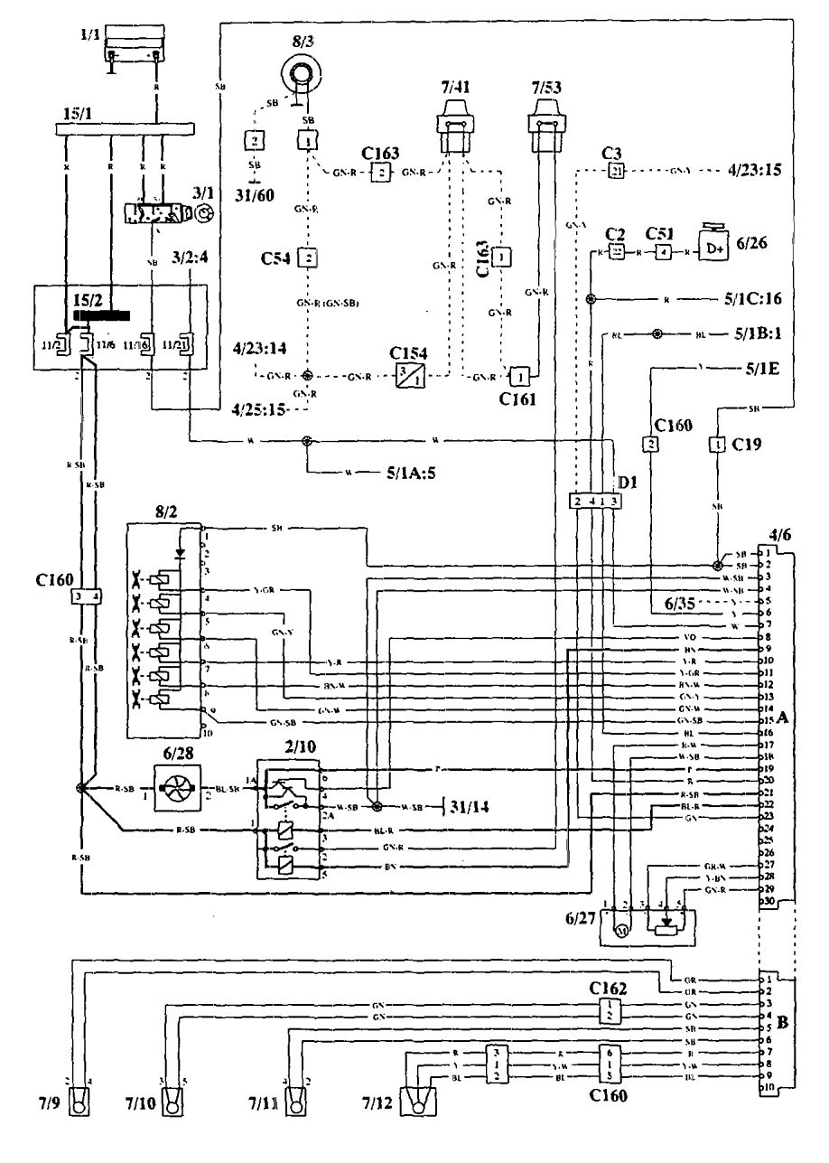 volvo fan control wiring diagram