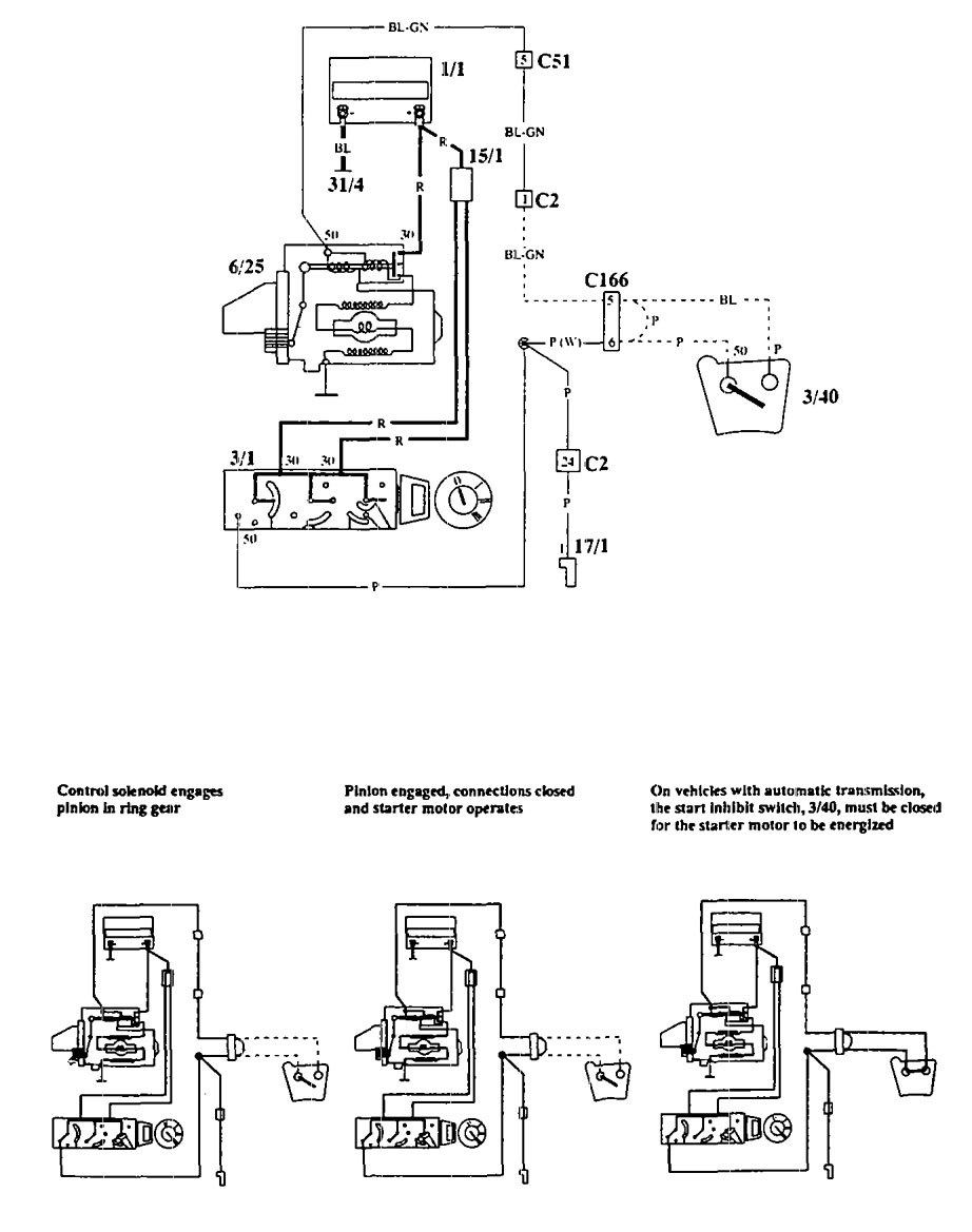 volvo 940 wiring diagram 1994