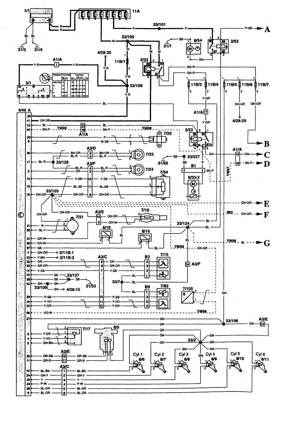 volvo 240 ignition wiring diagram