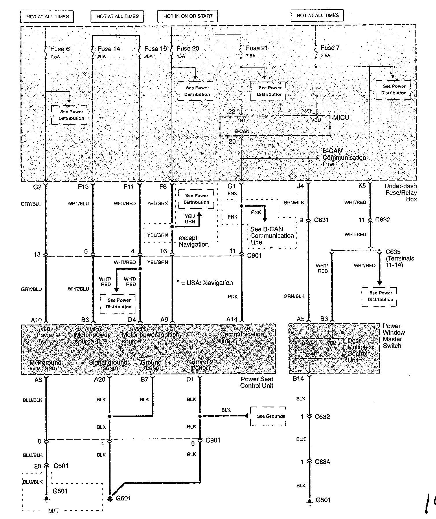 2009 acura tl fuse diagram wiring schematic harness