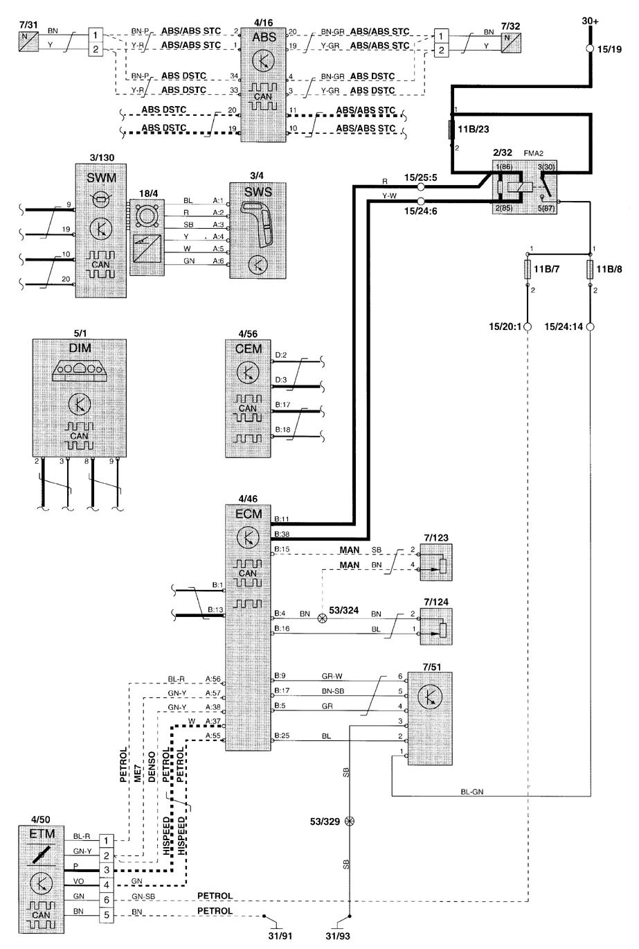 volvo s80 fuse box car wiring diagram