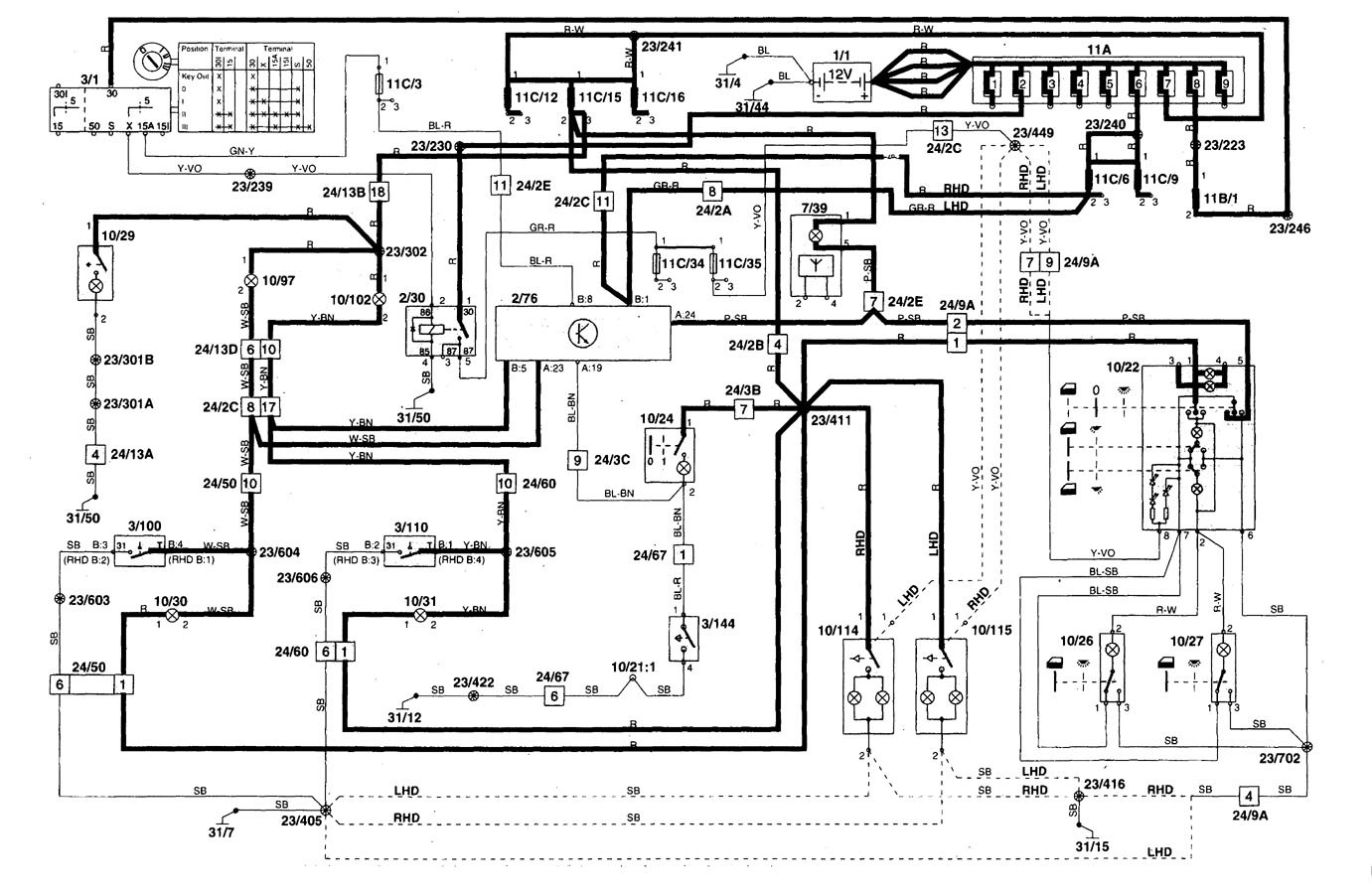 volvo c70 wiring diagram