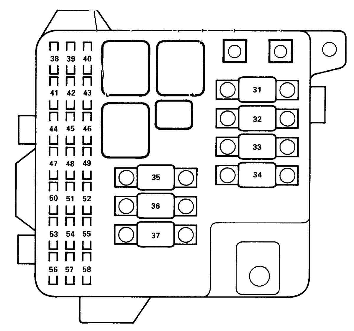 marine fuse panel diagram