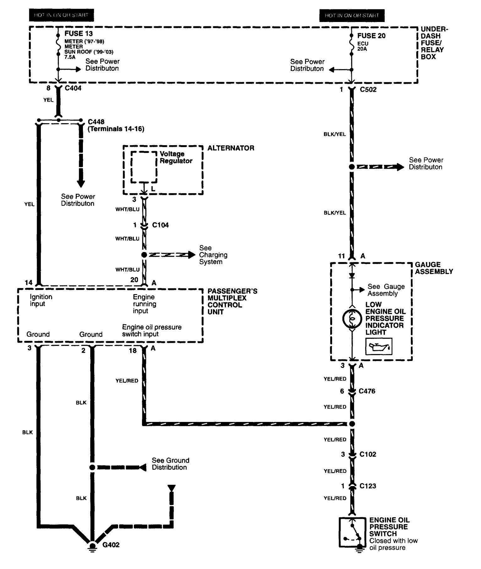 acura rl amp wire diagram