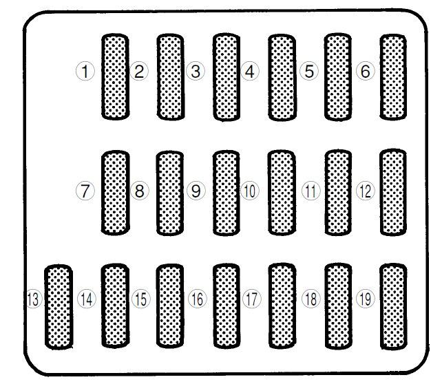 Subaru Forester Fuse Box Diagram Wiring Schematic Diagram