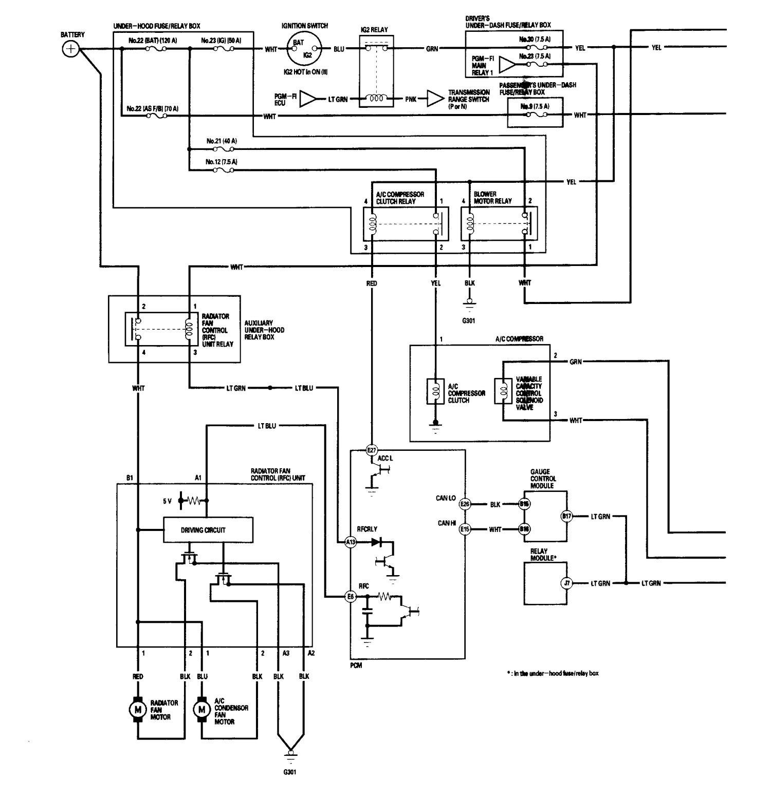 2006 acura rl wiring diagram