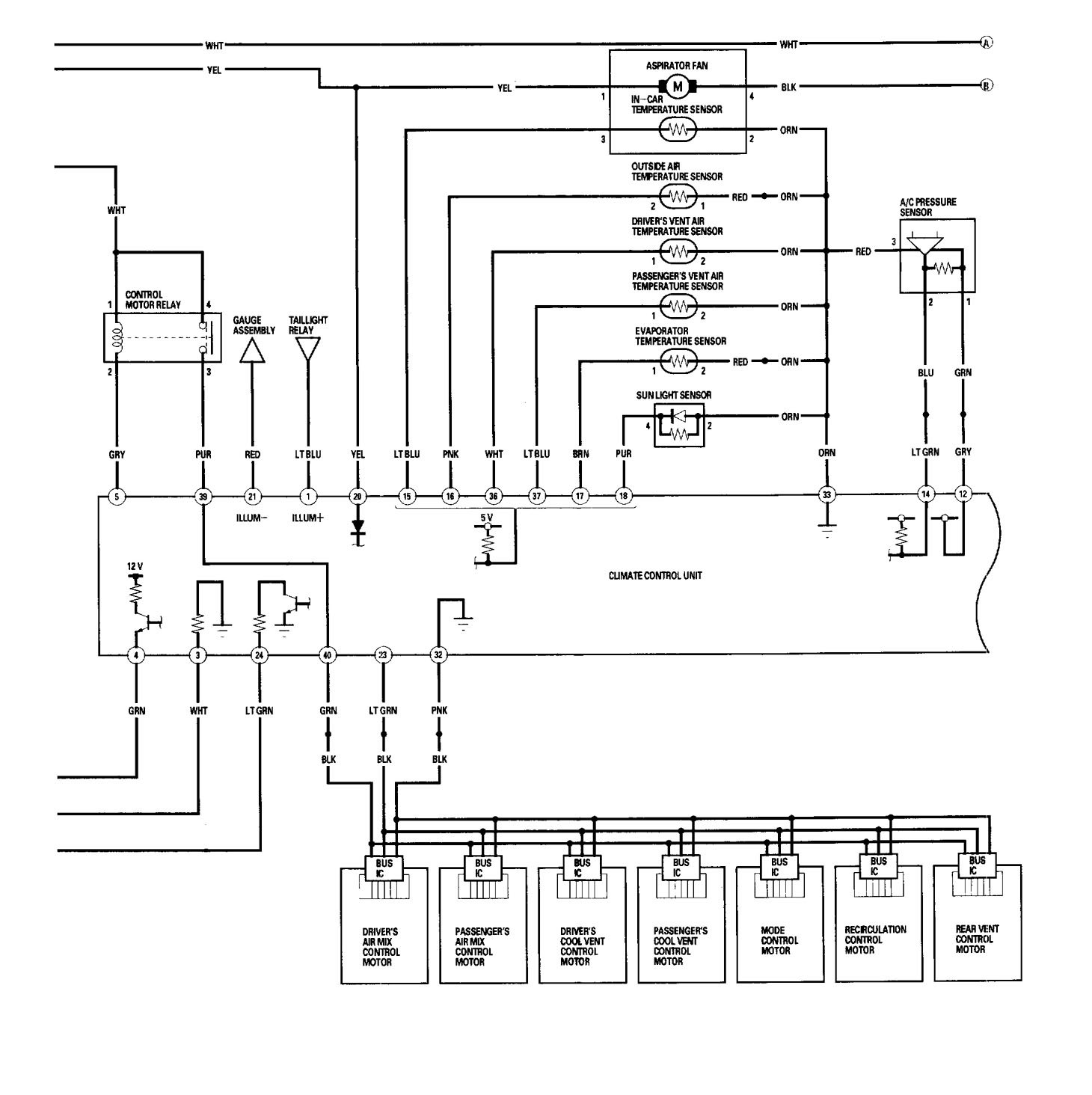 wiring diagrams for hvac auto electrical wiring diagramacura rl 2006 wiring diagrams