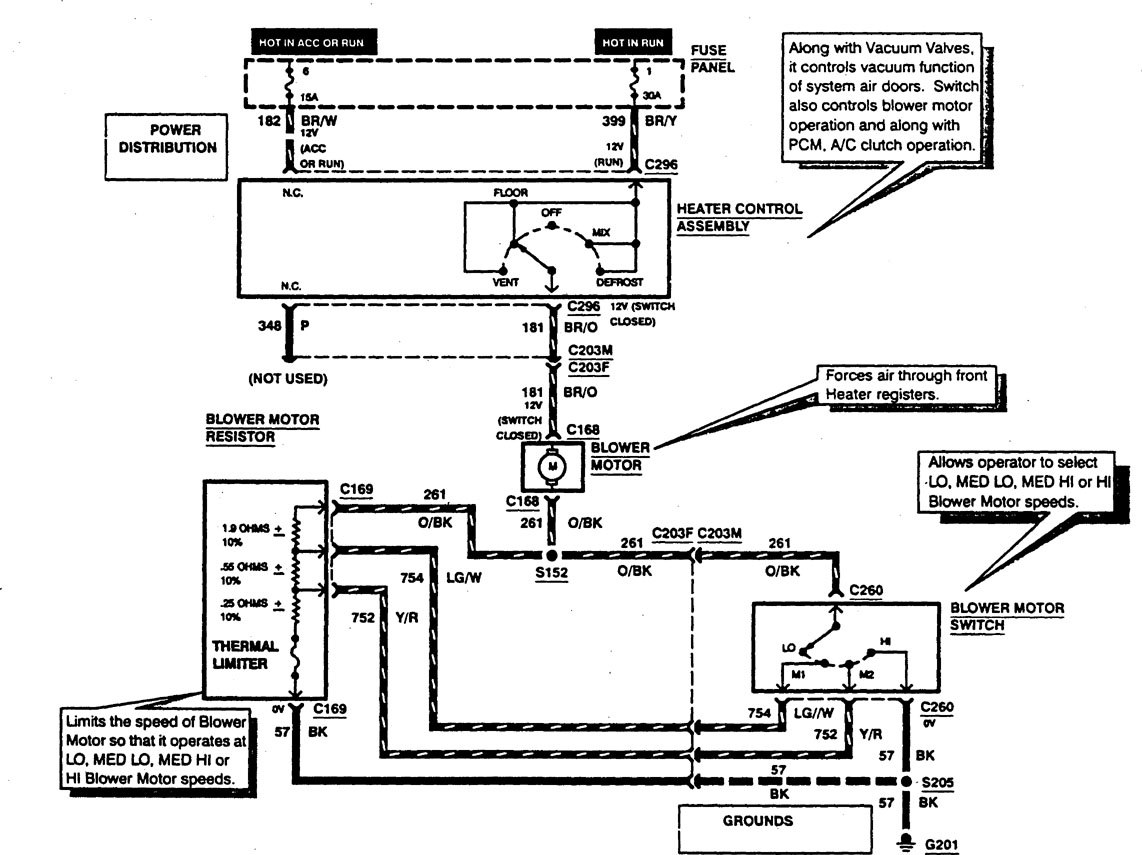 Ford F53 Wiring Schematic On Diagram Electronic Ignition Radio Auto Electrical Trailer