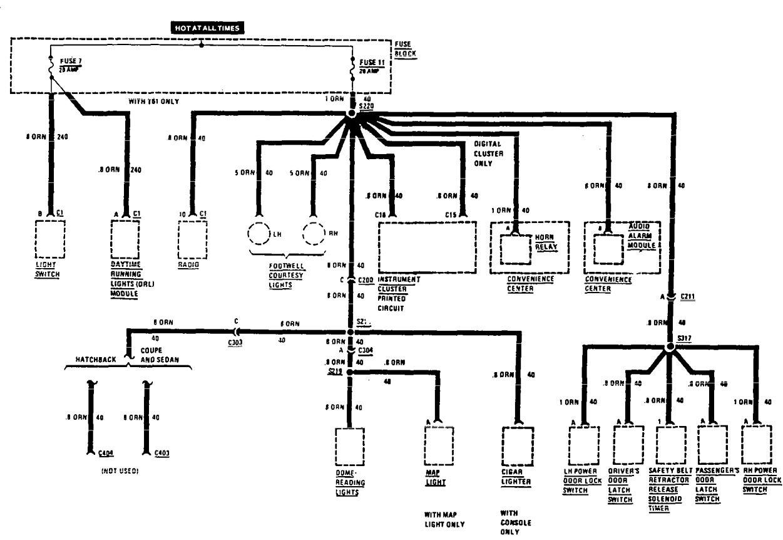 1998 honda acura rl fuse box diagram