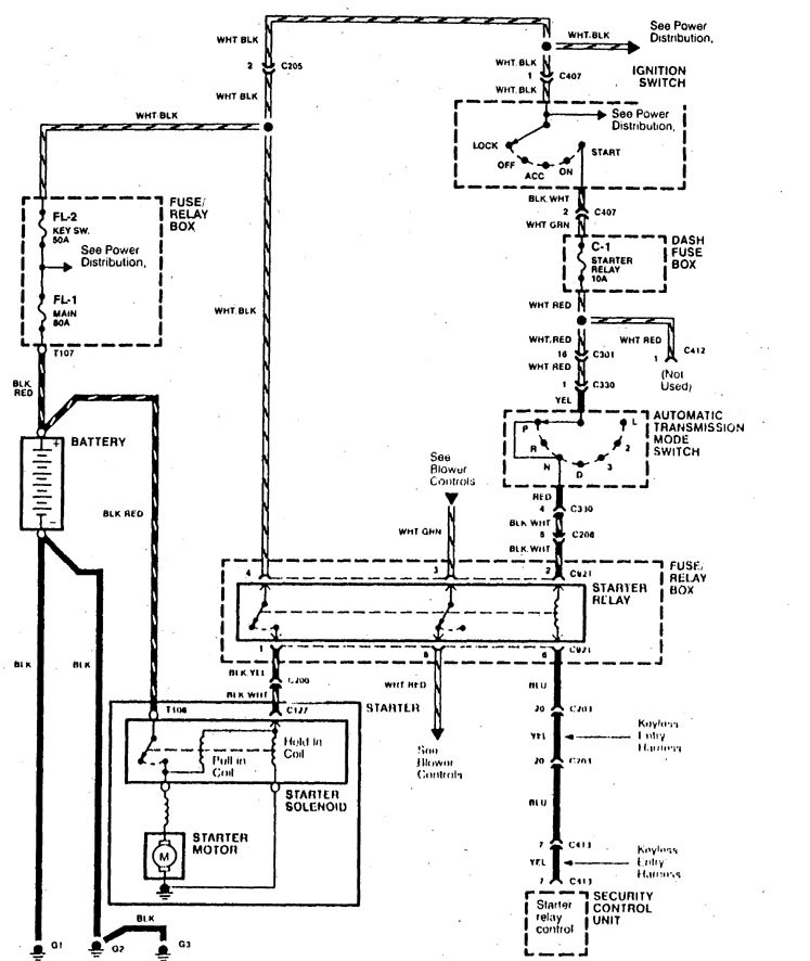 wiring diagram for 2004 acura rl