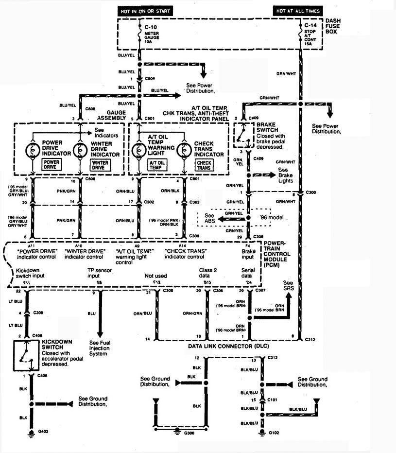 1998 acura slx radio wiring diagram