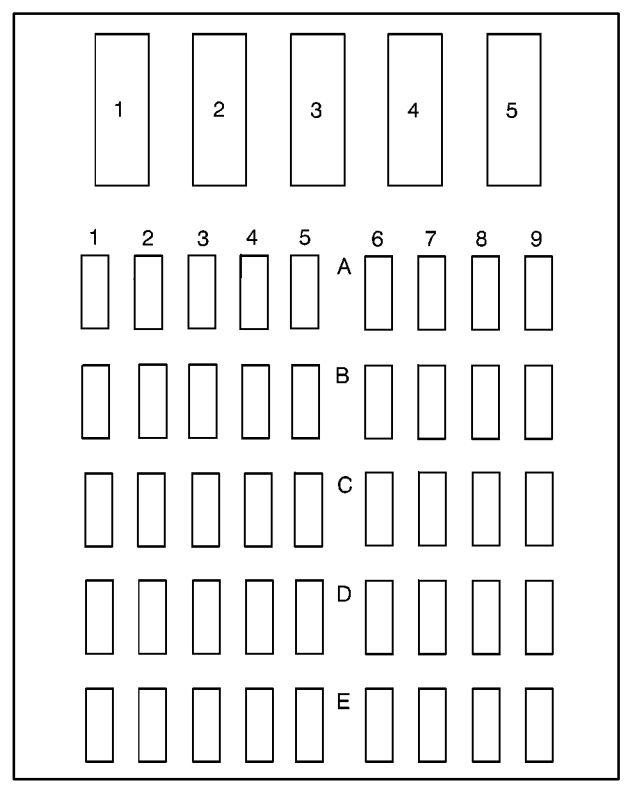 Buick LeSabre (1996 \u2013 1998) \u2013 fuse box diagram - CARKNOWLEDGE