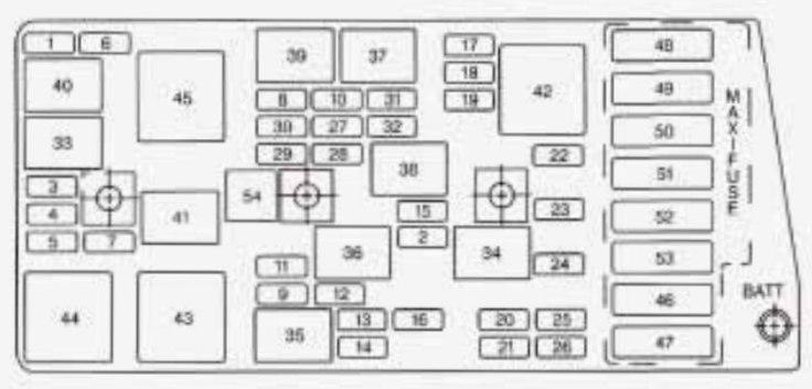 micro car fuse box