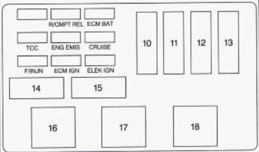 1984 chevy monte carlo fuse diagram
