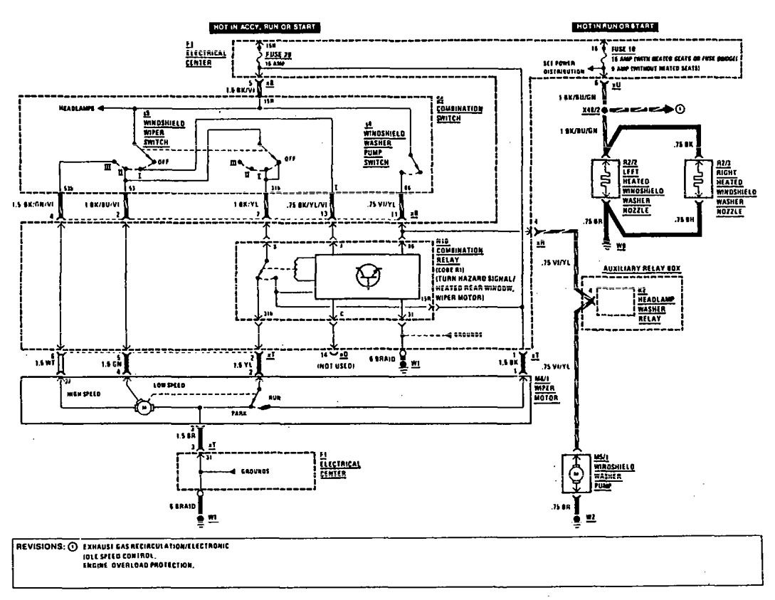 wiring diagram mercedes benz e cl