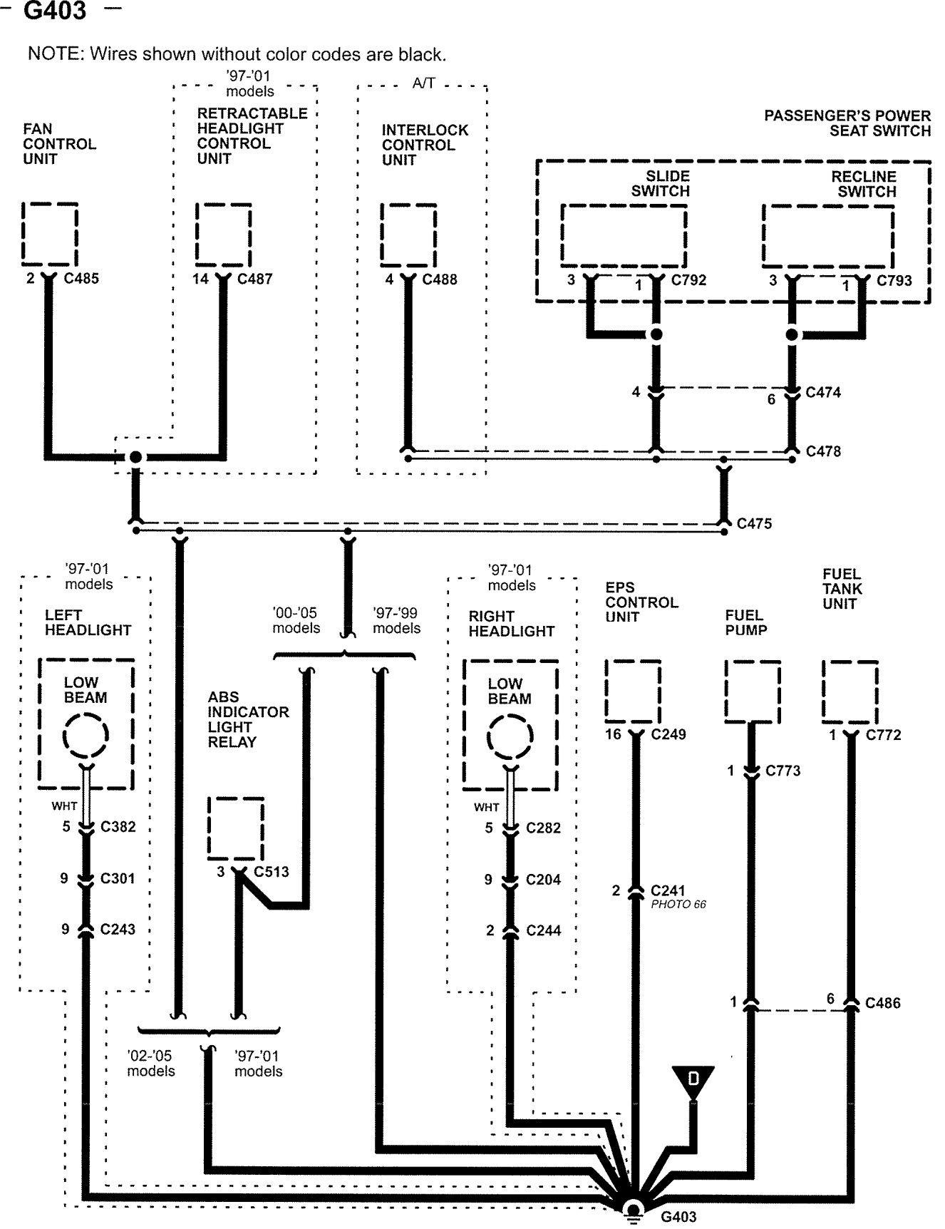 02 acura rsx fuse panel