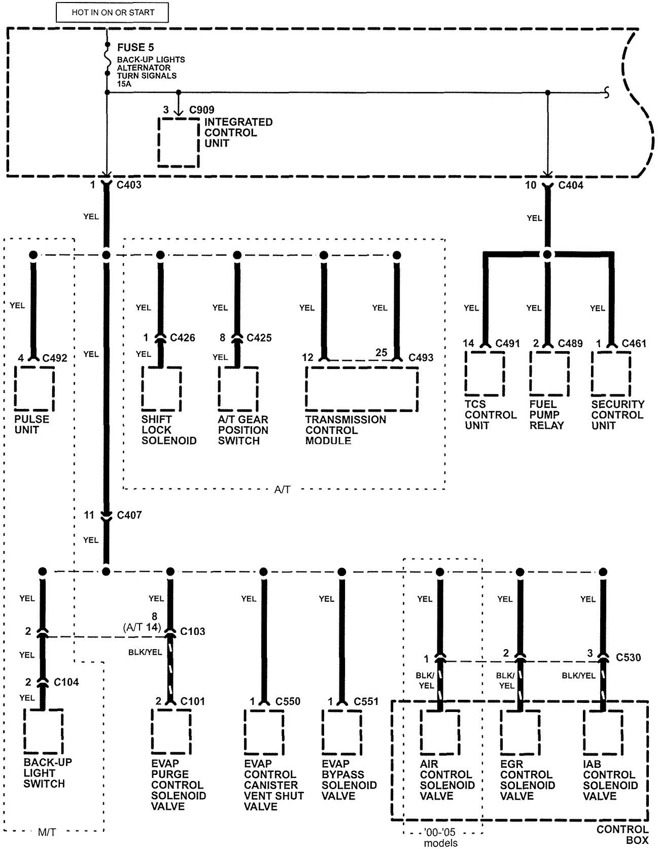 1998 acura rl electrical wiring diagram