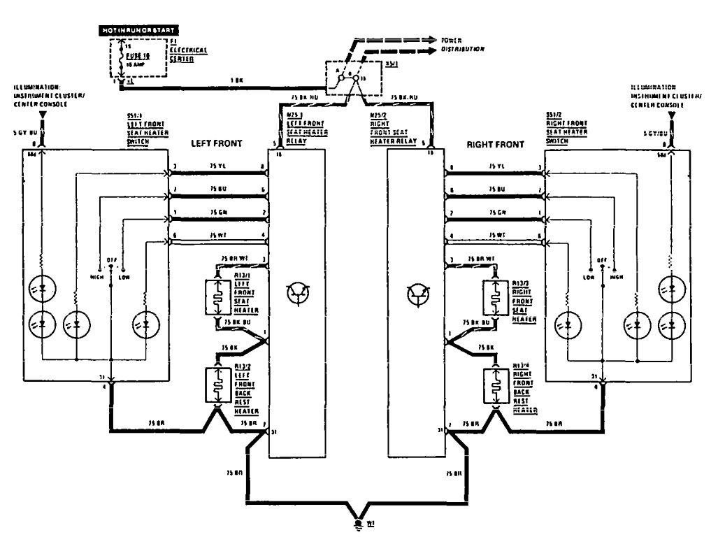1999 mercedes benz wiring diagrams