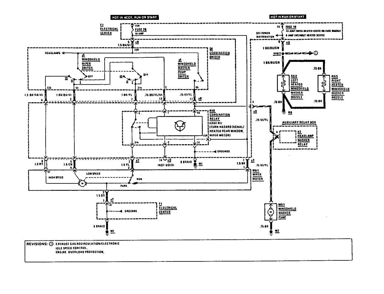 wiring diagram for 1991 mercedes 190e