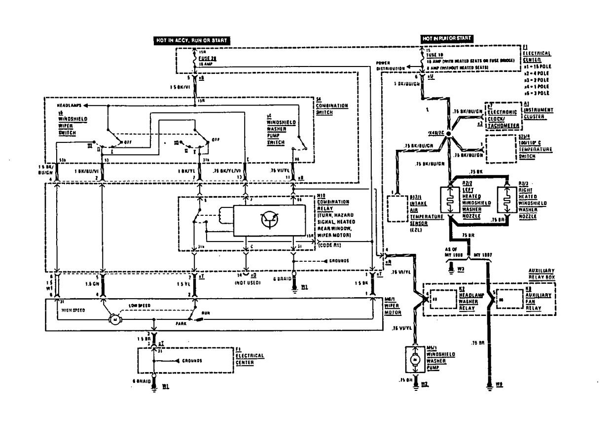 Mercedes Benz Wiring Diagrams W107 Auto Electrical Diagram