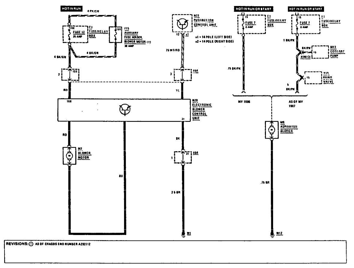 mercedes 300e wiring diagram