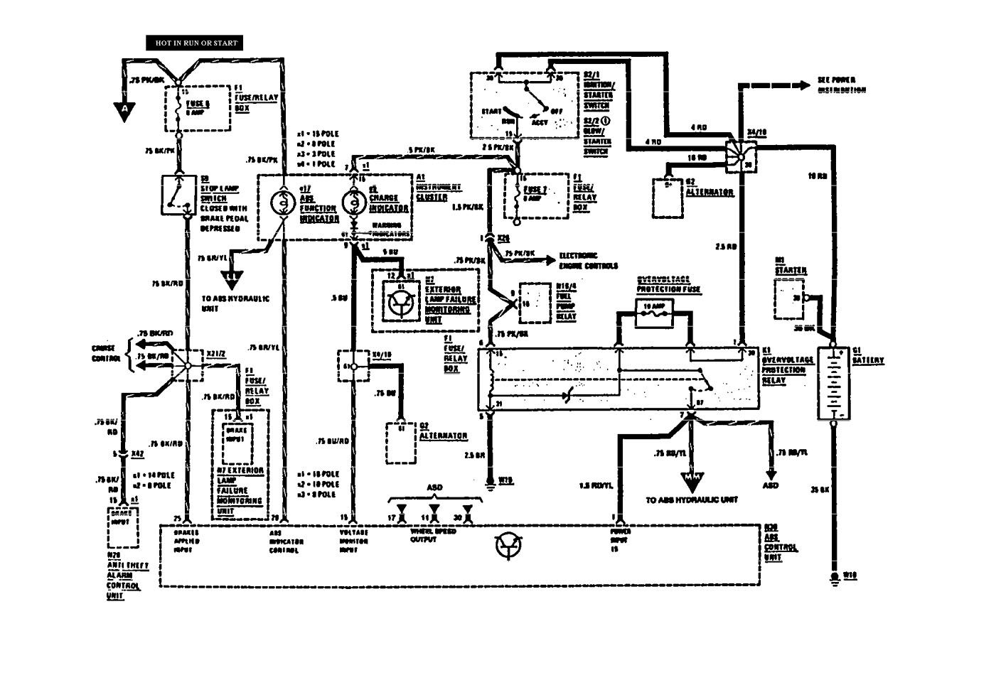 mercedes benz 560sel 1991 wiring diagrams