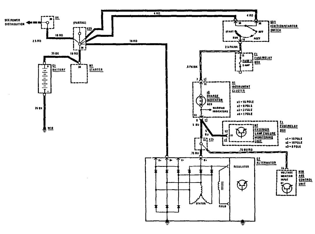 power distribution wiring diagram