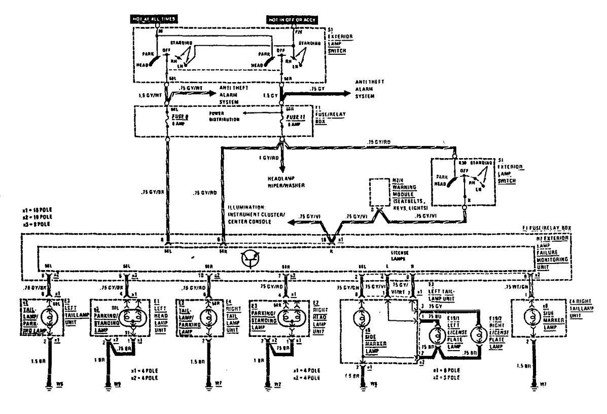 mercedes benz 560sel fuel pump diagram suzuki cars