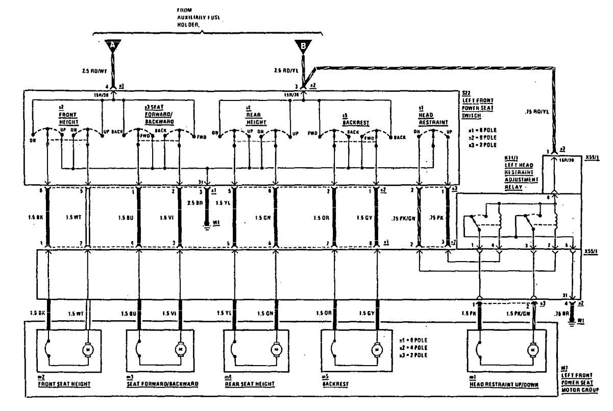wiring diagram mercedes 1991