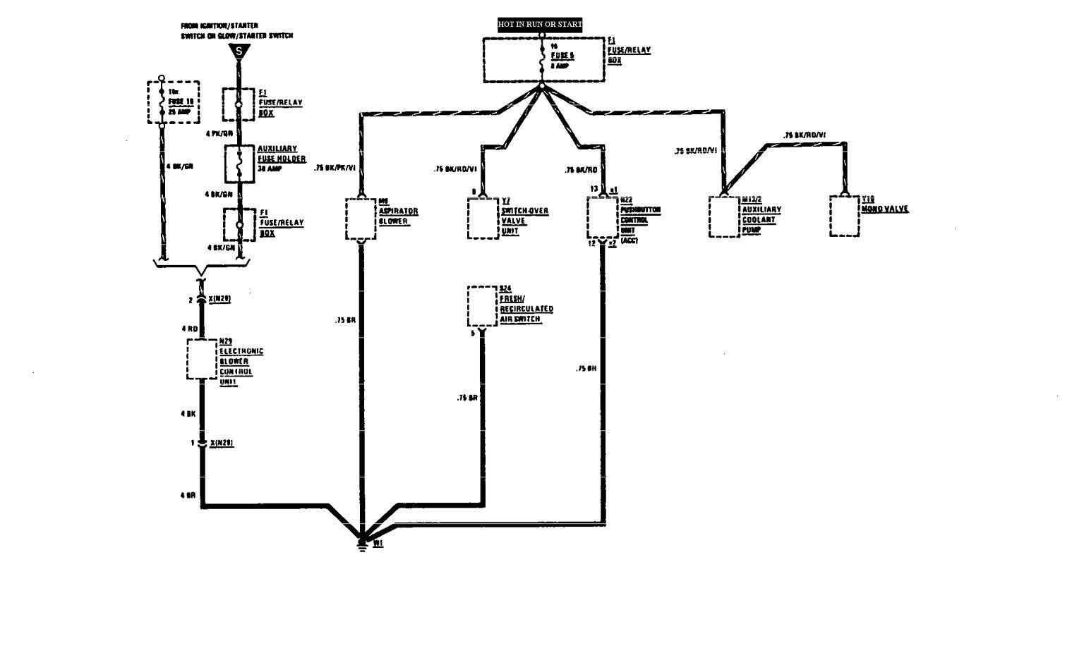 fuse wiring diagram mercedes 560sec