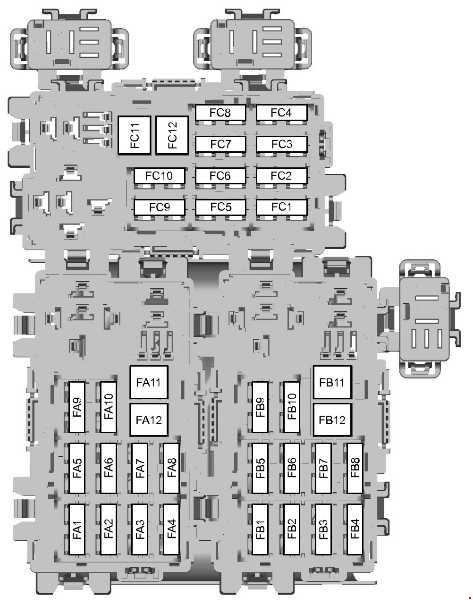 Ford Galaxy (2006 \u2013 2015) \u2013 fuse box diagram - CARKNOWLEDGE