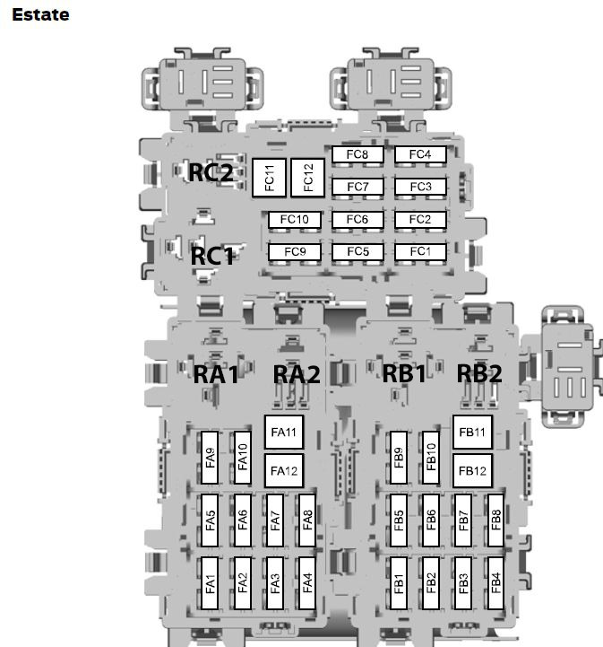 Ford Mondeo MK4 (01/02/2007 \u2013 19/08/2007) \u2013 fuse box diagram (EU